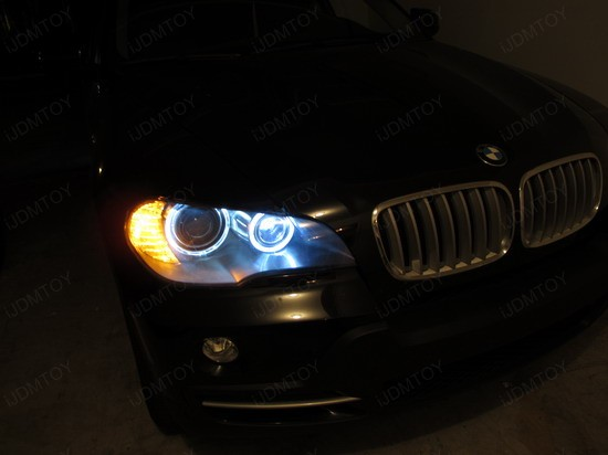BMW - X5 - H8 - LED - Angel - Eyes - 2